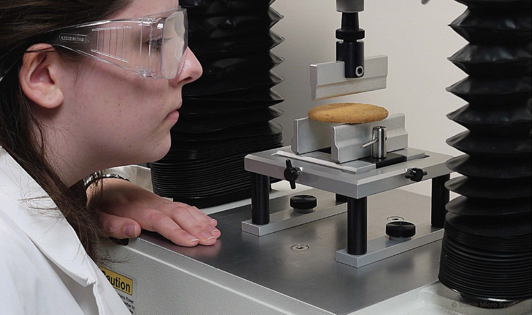 Desarrollo de metodos de ensayo para el analisis de textura de alimentos, cosmética, productos farmaceuticos y adhesivos